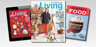 free martha stewart living magazine