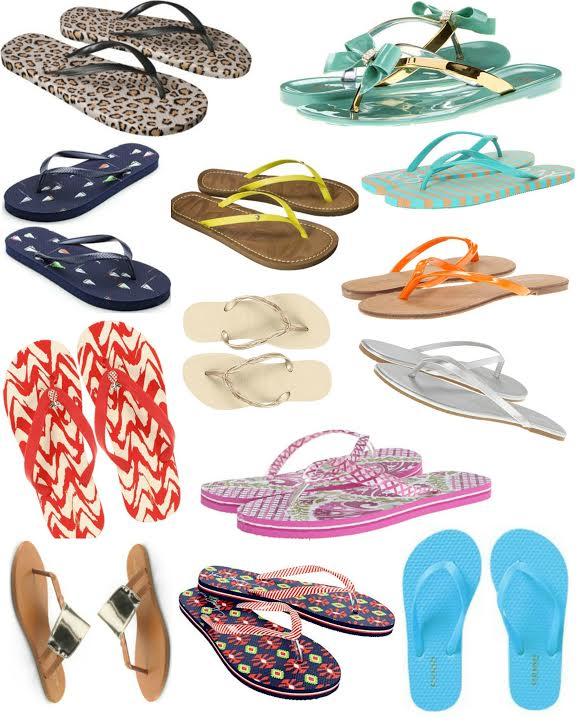 frugal flip flops roundup