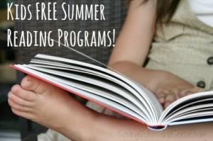 kids free summer reading programs