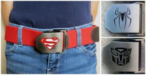 kids superhero belts