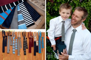 knitted ties for boys and men