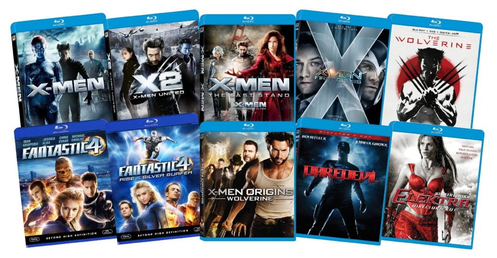 marvel x-men bundle blu-ray