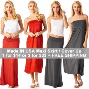 maxi skirts $11