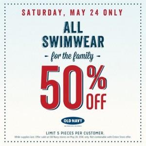 old navy 50 off swimwear