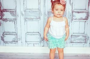 sweet ruffle lace shorts