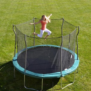 trampoline kmart deal 300x300 12 Foot Trampoline With Enclosure for $189.99!