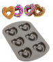 wilton nonstick heart donut pan