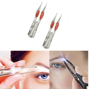 2 Pack Life Saver Handy LED Tweezers