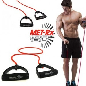 2 Pack of Met-RX 180 Resistance Bands