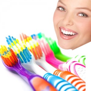 6 Pack Dr. Fresh Close Up Right Angle Toothbrushes