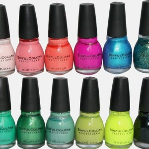7 pack sinful colors nail polish