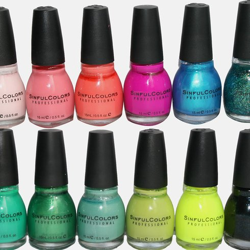 7 Pack Sinful Colors Nail Polish For 10 25 Shipped Utah Sweet Savings