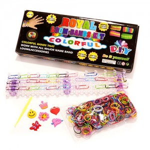 D.I.Y. Looms Band Kit with Charms