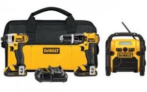 DEWALT DCK385C2 20V MAX Lithium 3 Tool Combo Kit with Hammer Drill and Impact Driver 300x188 DEWALT 20V MAX Lithium 3 Tool Combo Kit with Hammer Drill and Impact Driver for $259 (Reg $670)