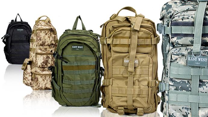 East West Tactical Gear Backpack or Sling Bag