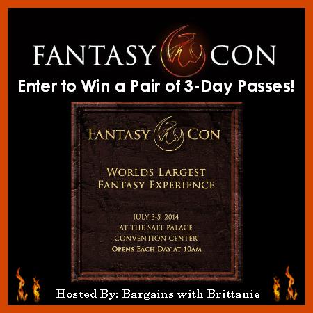 Fantasy Con Giveaway