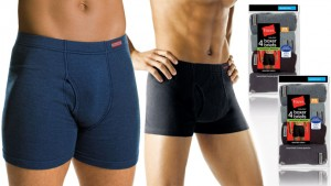 Hanes ComfortSoft Tagless Boxer Briefs for Men in Assorted Colors