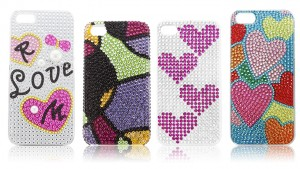 Hard Case for iPhone 44S or iPhone 5 Rhinestones