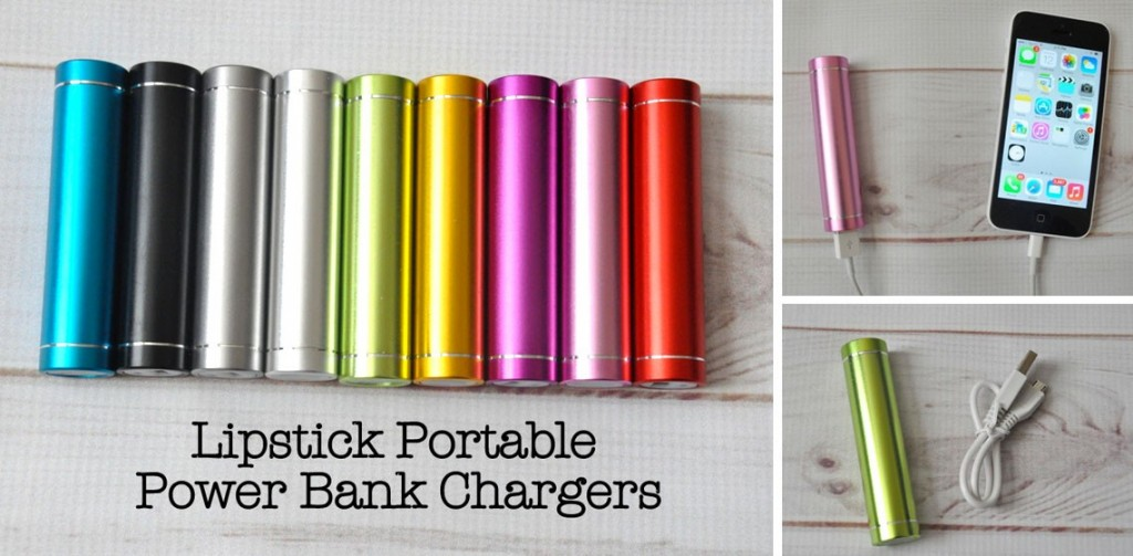 Lipstick Portable Chargers