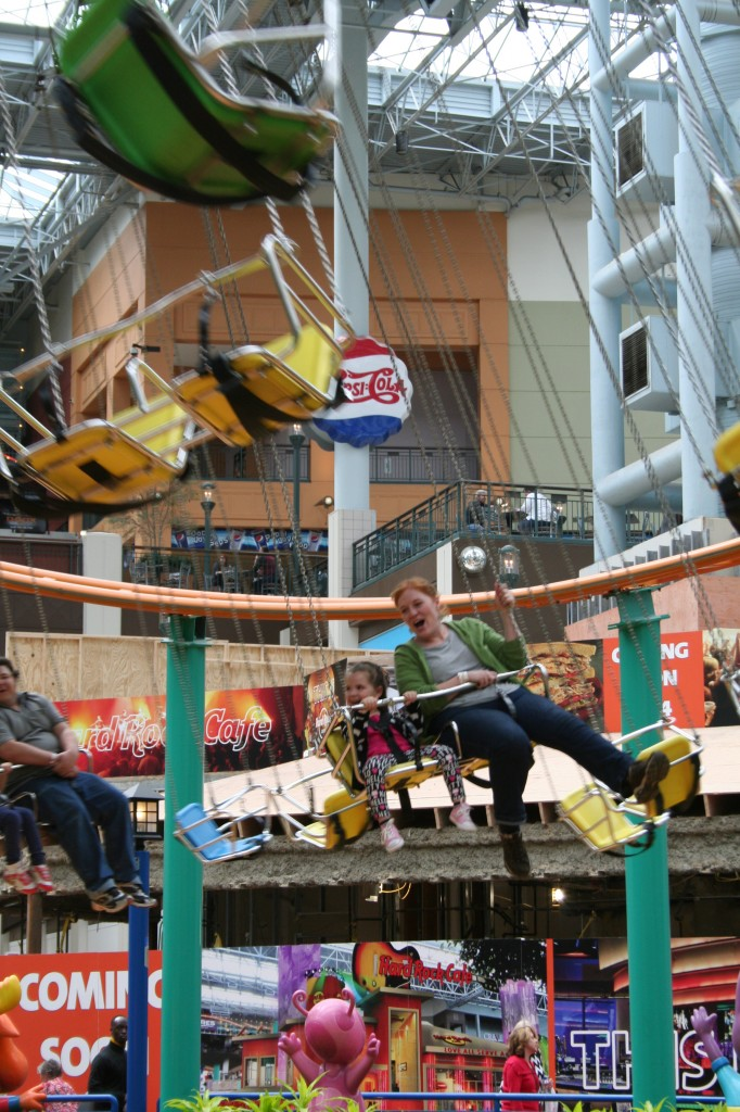 Mall of America Swings