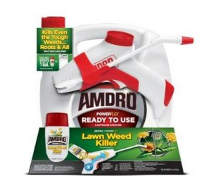 PowerFlex Ready-To-Use Cartridge Sprayer & Lawn Weed Killer Concentrate