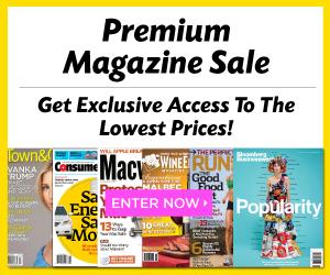 Premium Magazine Sale