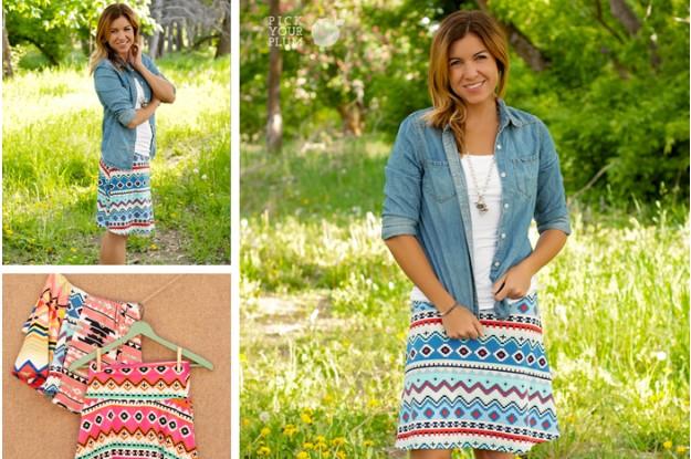 Print Skirts