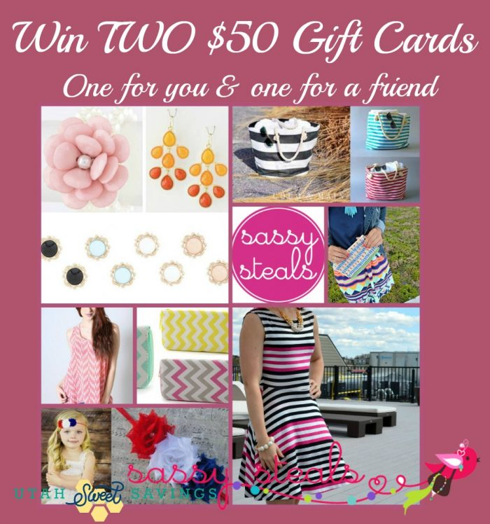 Sassy Steals Gift Card Giveaway