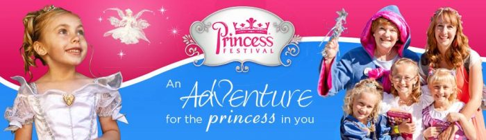 The Princess Festival Banner