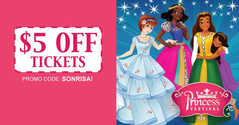 The Princess Festival Discount Code