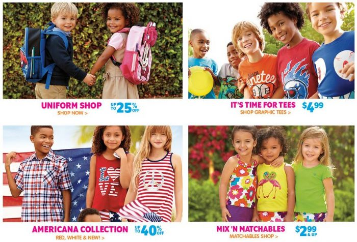 childrens place sales