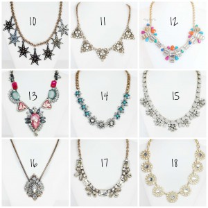 crystal necklace sale