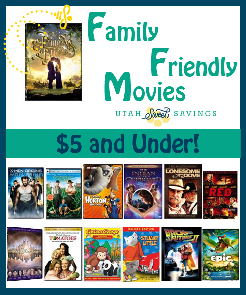 family friendly movies under $5