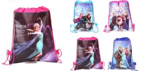 kids frozen drawstring bags