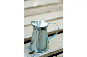 mini metal milk jugs