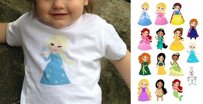 princess shirts
