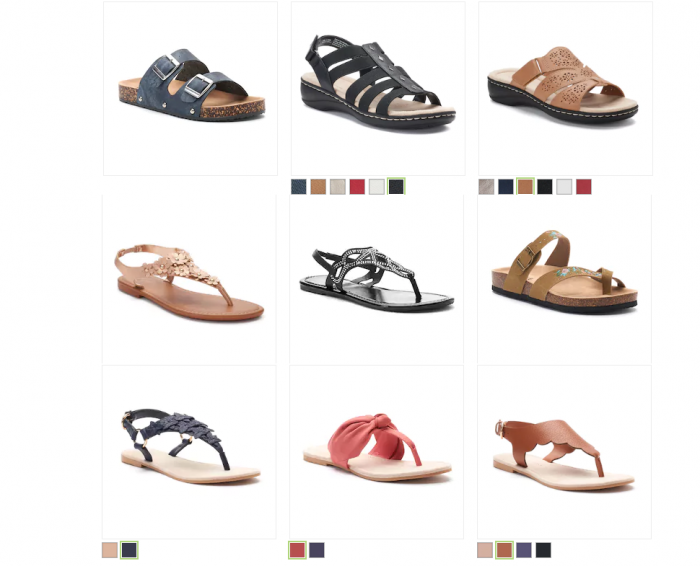 bde454e83033 Cute Women s Sandals as low as  7.00 (reg  20- 24) Free Shipping ...