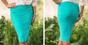 scrunch skirt