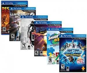 select ps vita and ps3 games