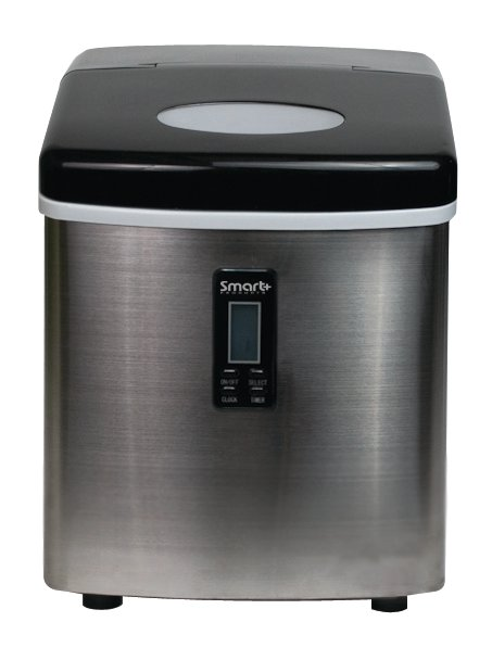 Smart Products SPP15AIM Portable Stainless Steel Ice Maker