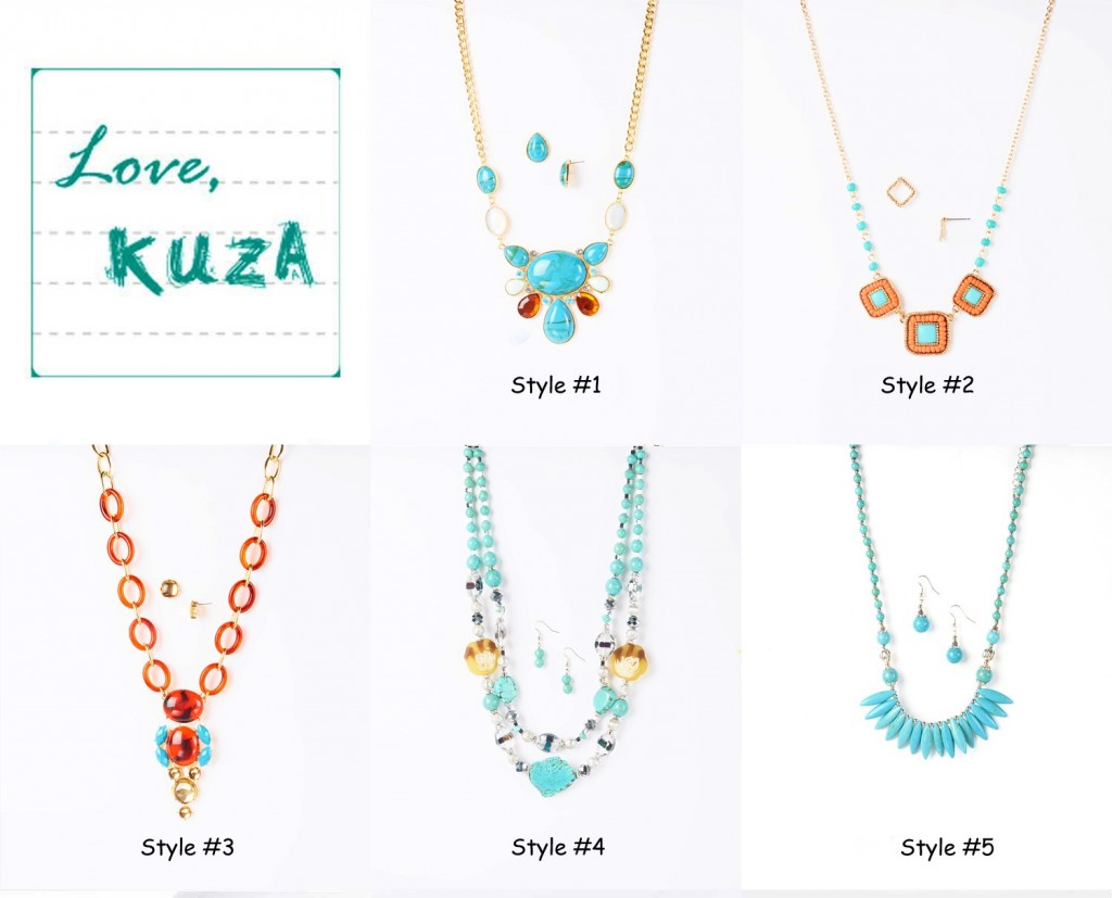 turquoise statement necklaces group 1