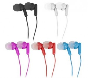 100-Pack Vivitar Noise Isolating Earbud Headphones w Silicone Comfort Earbuds