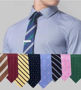 6 pack designer neck ties image