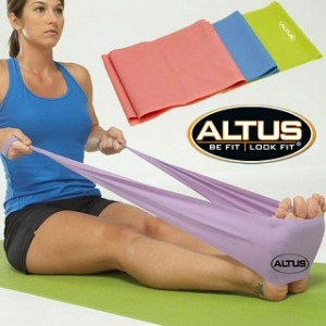 Altus Athletic 4-Foot Latex Exercise Bands