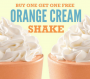 Arbys Orange Cream Shake