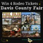 Davis County Fair Rodeo Ticket Giveaway