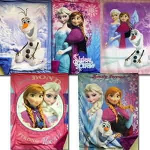 Disney FrozenRoyal Plush Mink Raschel Blankets