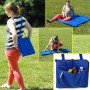 Folding Carry-Along Zippered Blanket Bag