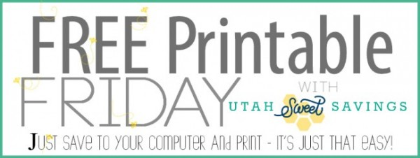Free Printable Friday