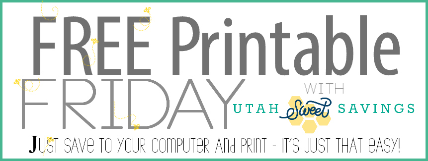 Free Printable Friday